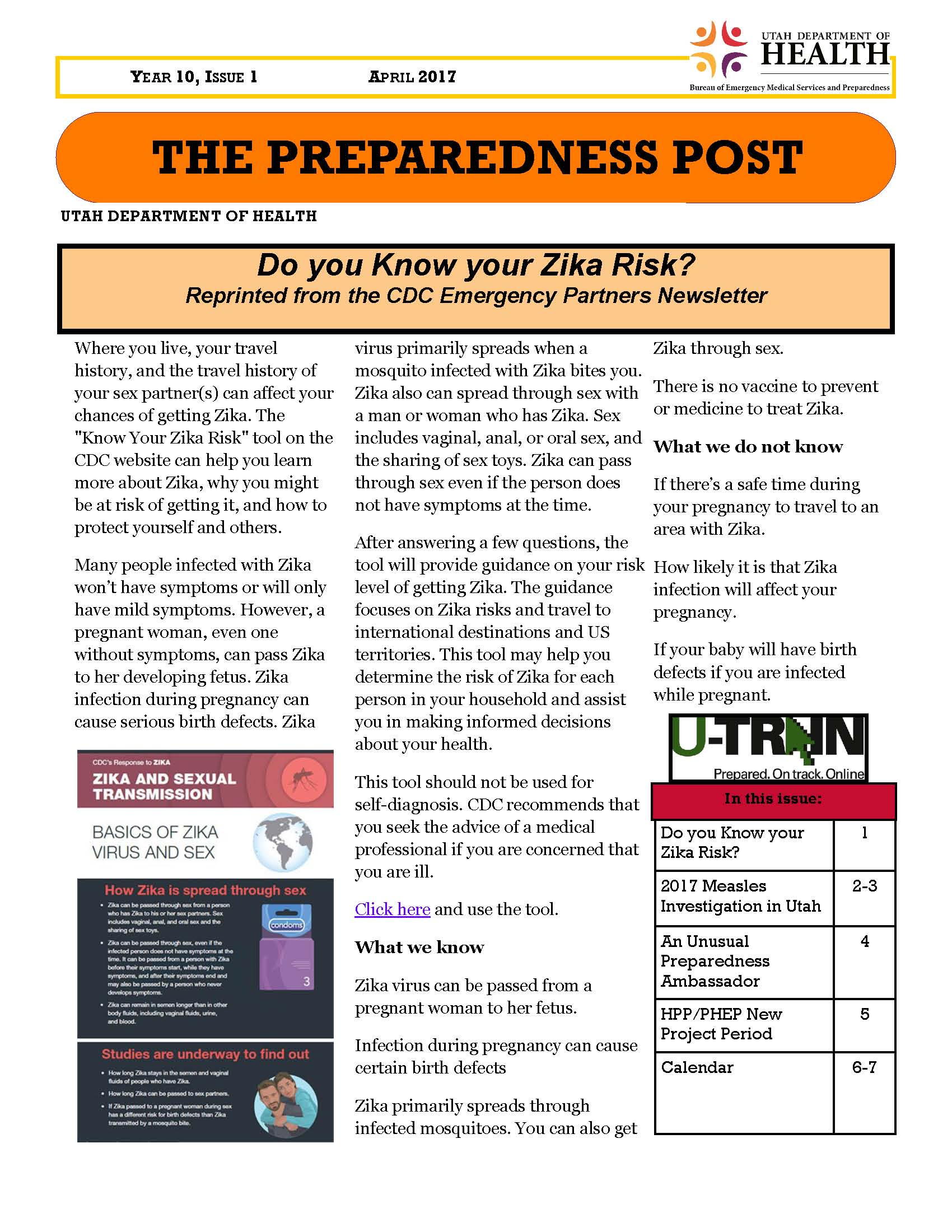 Bureau of emergency medical services and preparedness utah the preparedness post year 10 issue 1 1betcityfo Gallery