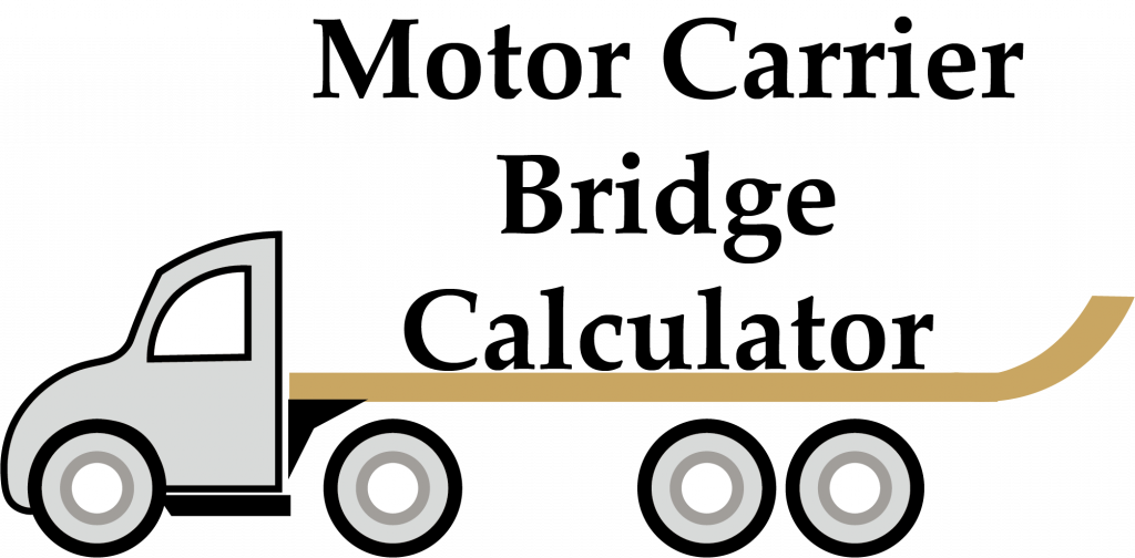 Motor Carrier Bridge Calculator
