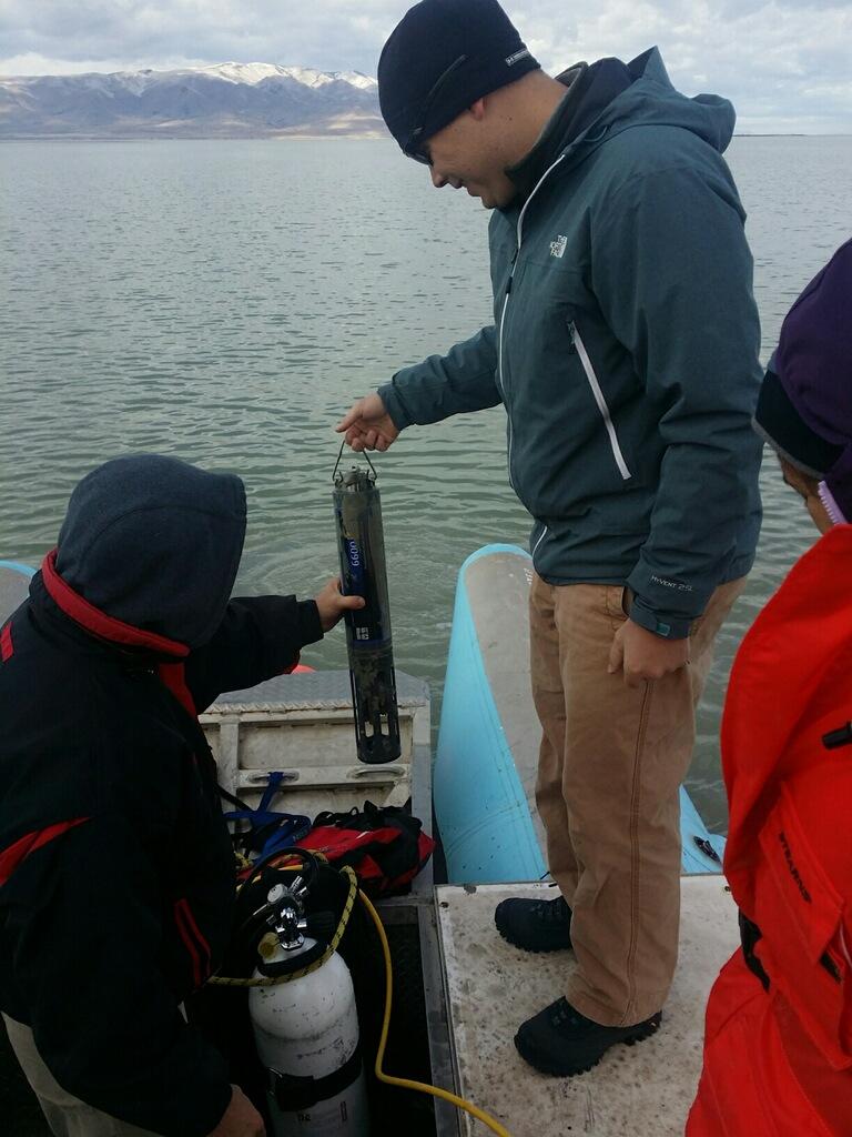 Utah lake Sensor Recovery