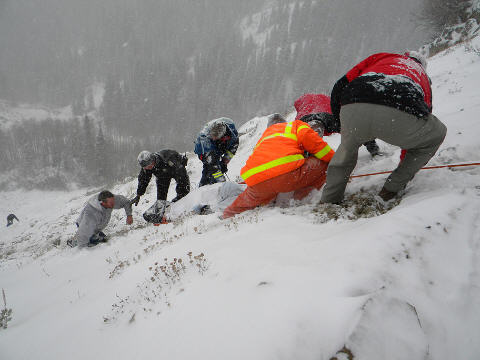 Guardsman Pass Rescue wasatch SAR