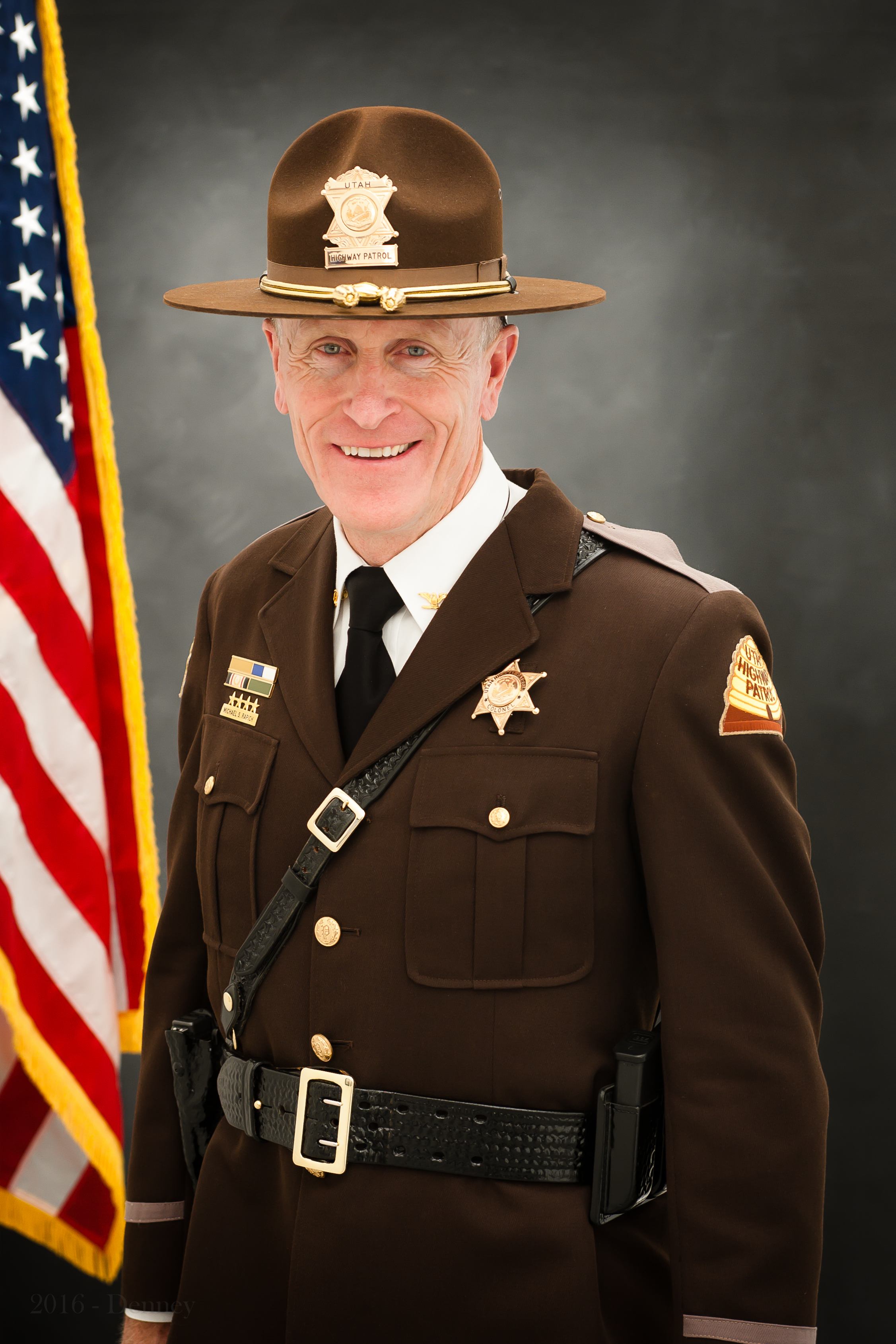 Utah Highway Patrol Colonel Michael Rapich