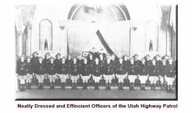 Historical photo of troopers in formation