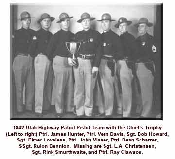 Troopers with the Chief's Trophy