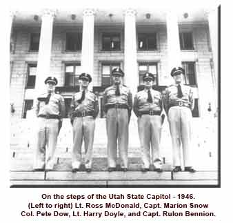 Troopers on steps of Capitol