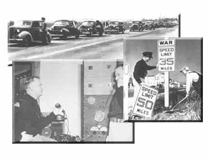 Historical photos of UHP cars, phones and speed signs