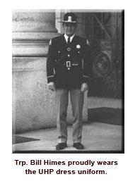 Trooper Himes in dress uniform