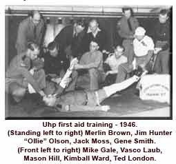 UHP First Aid Training