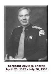 Sgt. Thorne