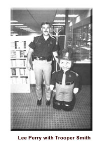 Lee Parry with Trooper Smith