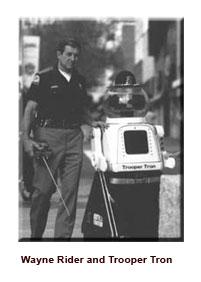 Wayne Rider with Trooper Tron