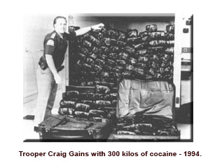 Trooper Gains with 300lbs of cocaine