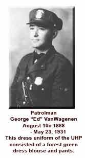 Patrolman George Ed VanWagenen