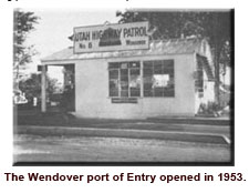 Wendover Port of Entry