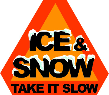 Ice and snow, take it slow
