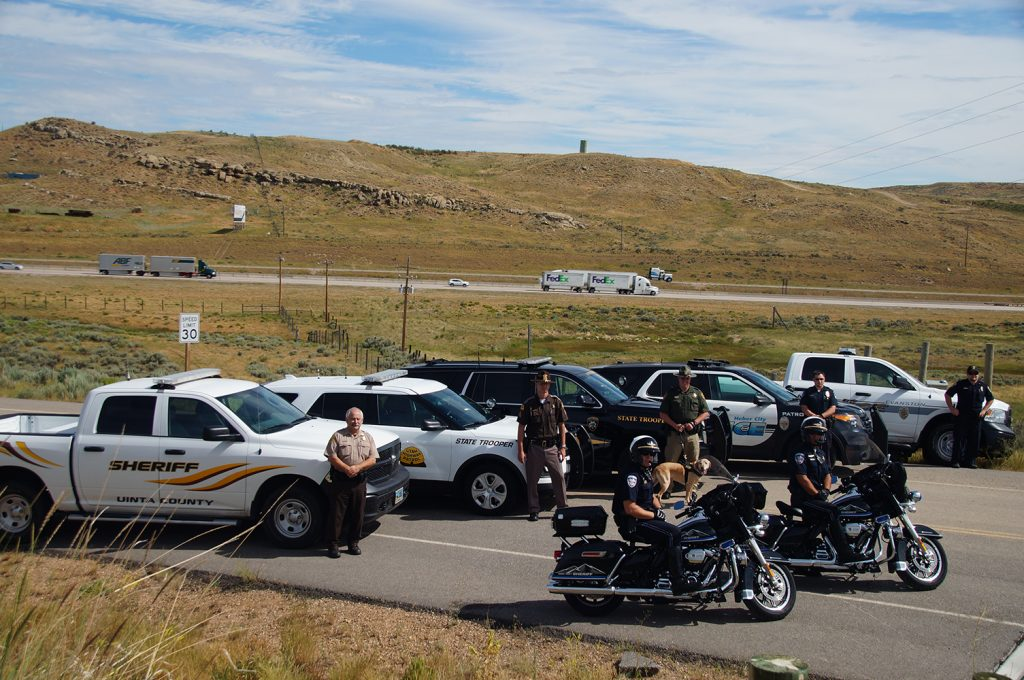 From Thursday, July 20th through Monday, July 24th, Wyoming and Utah law enforcement will be teaming up as part of a two-state, multi-agency Traffic Enforcement Operation, spanning Summit and Wasatch Counties in Utah and Wyoming's Uinta County. The long Pioneer Day weekend is a time when many people hit the road and on Saturday, Evanston holds its annual Brew Fest. Agencies participating in the operation include the Utah Highway Patrol, Summit County Sheriff, Wasatch County Sheriff, Park City Police, Wyoming Highway Patrol, Evanston Police Department, and Wyoming's Uinta County Sheriff. They will be working 30 extra shifts over the long weekend with the goal of getting everyone home safely.
