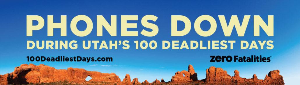 Phones down during Utah's 100 deadliest days