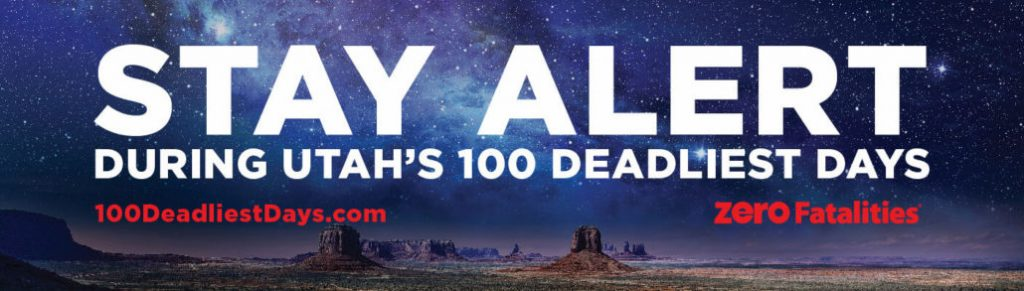 Stay alert during Utah's 100 deadliest days
