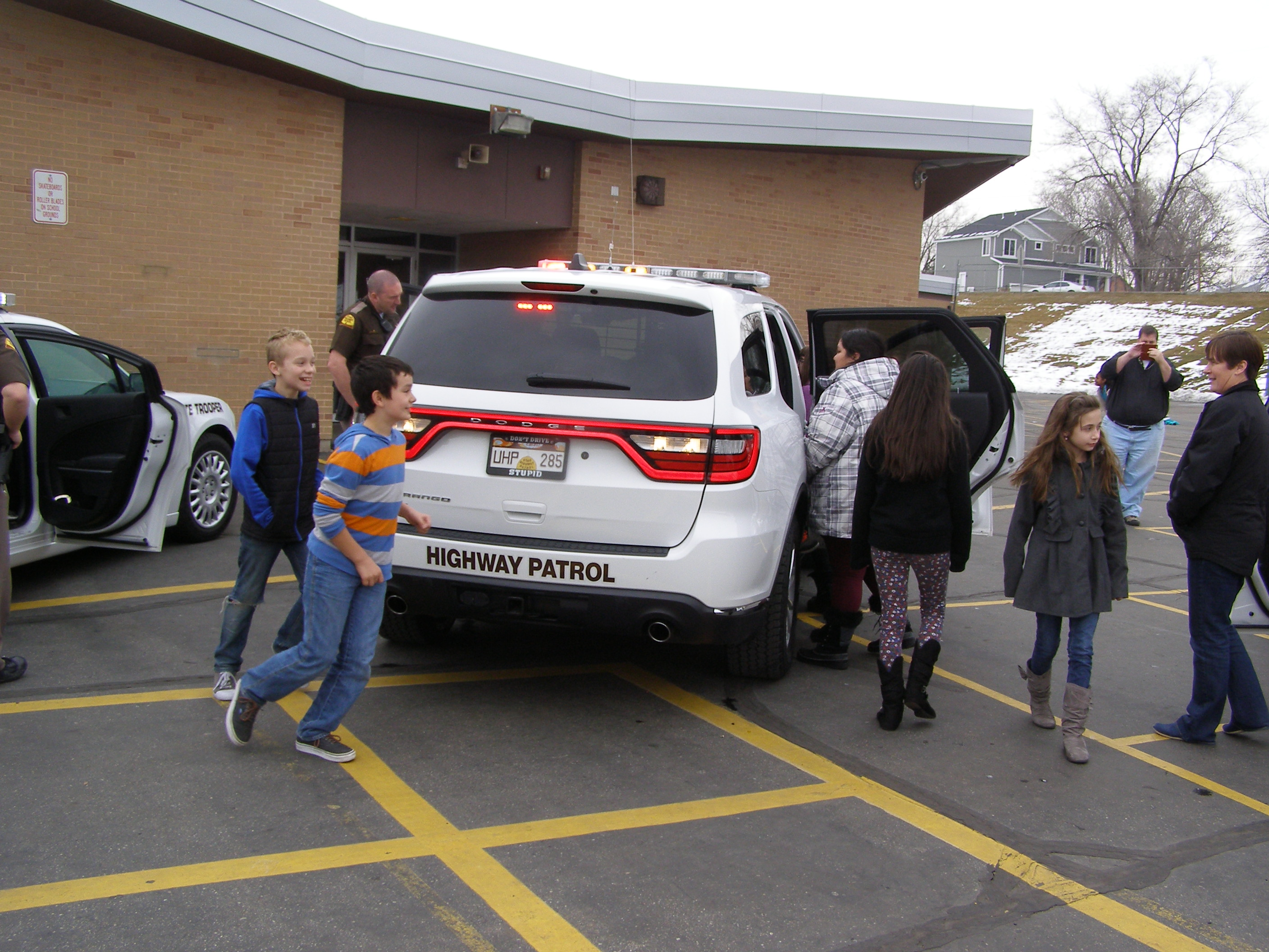 UHP troopers conduct public information and education actives at schools, businesses and special events.