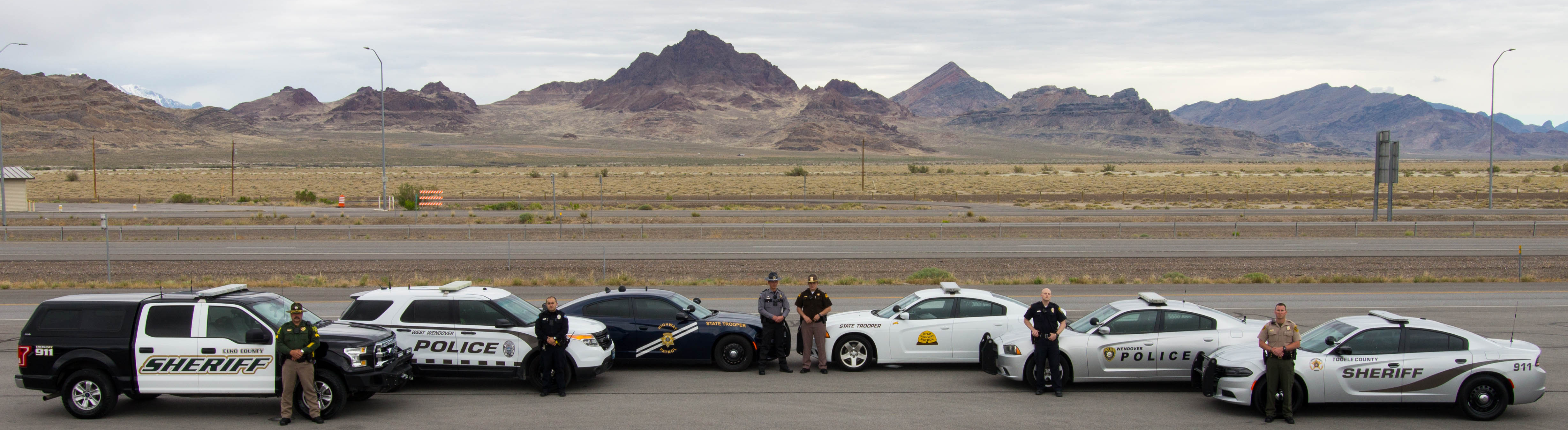 Officers from the Elko County Sheriff's Office, West Wendover Police Department, Nevada Highway Patrol, Utah Highway Patrol, Wendover Police Department and Tooele County Sheriff's Office will be participating in the Border to Border seat belt enforcement operation.