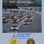 Screen cap of cover of HOV enforcement report