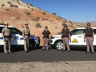 Troopers from Arizona and Utah Highway Patrol will participate in border to border seat belt enforcement.