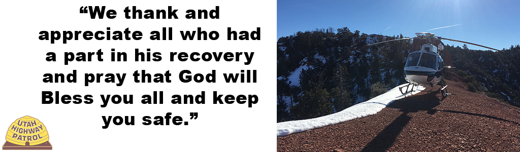 We thank and appreciate all who had a part in his recovery and pray that God will Bless you all and keep you safe.
