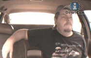 Screen shot from drowsy cab driver video - click to view