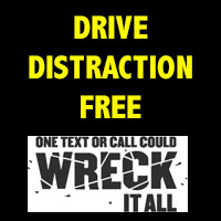 Drive distraction free