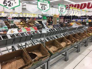 Bananas were sold out at Winco Monday night.   Ronda Hobbs, EastIdahoNews.com.