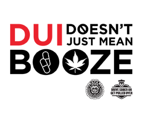 DUI doesn't just mean booze.