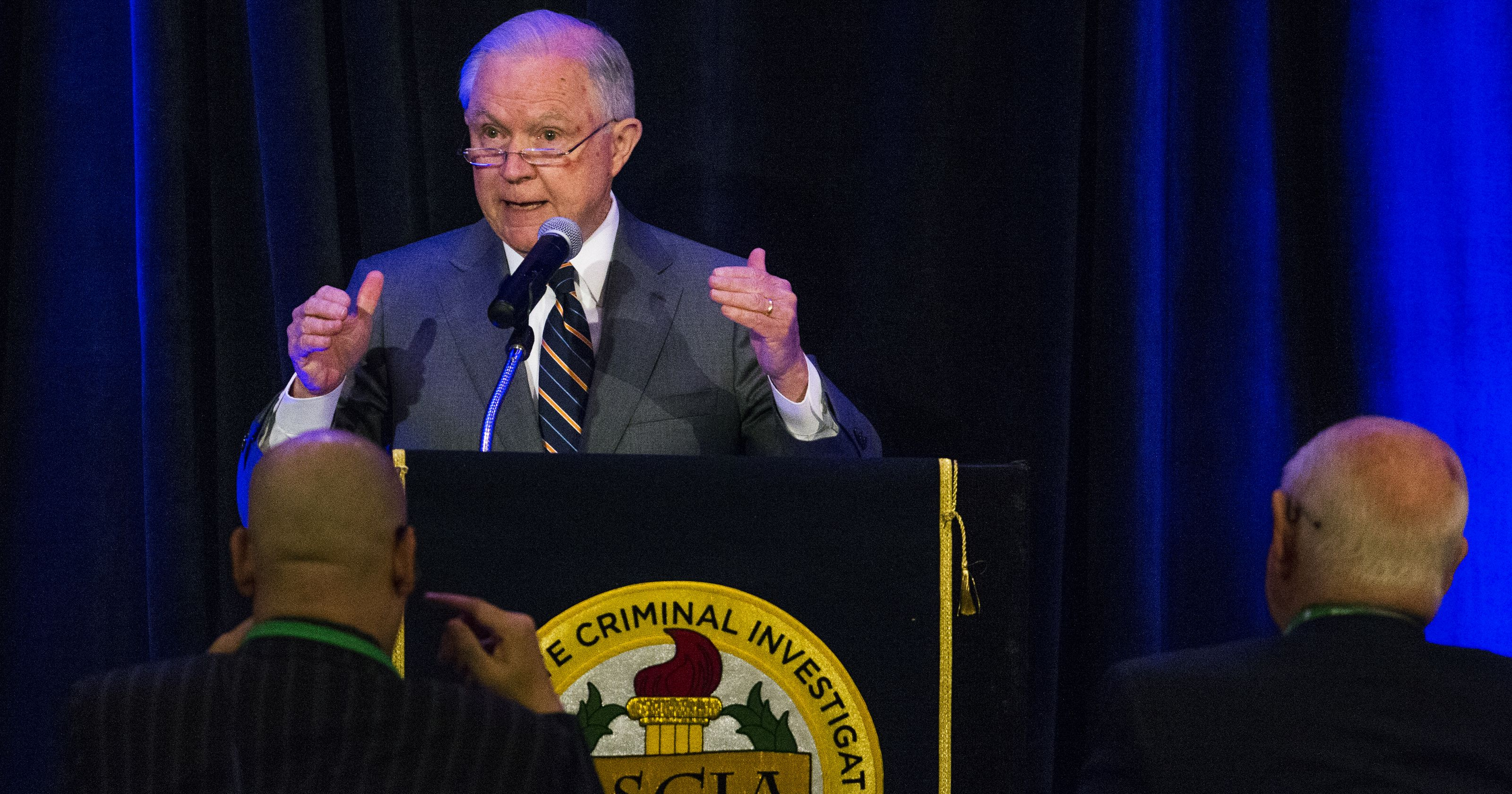 Attorney General Jeff Sessions of one of many federal officials who spoke at ASCIA