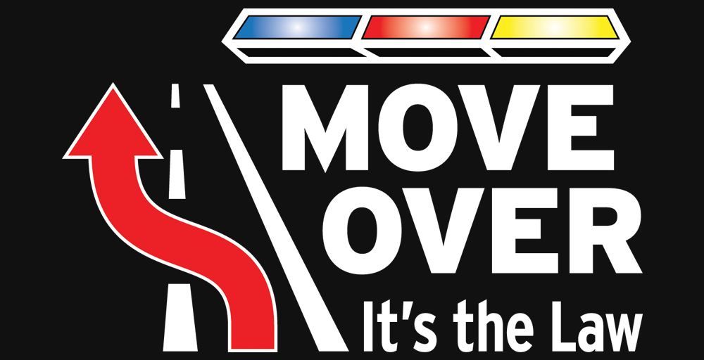 Move Over for emergency vehicles - it's the law
