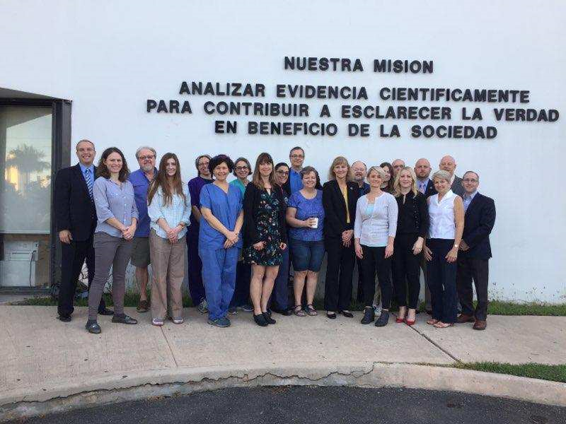 Senior Forensic Scientist Manager Jennifer McNair traveled to San Juan with a group of other  laboratory directors, leaders and Attorney Generals from around the country to assist San Juan's crime laboratory with the enhancement and restoration of their forensic science services.