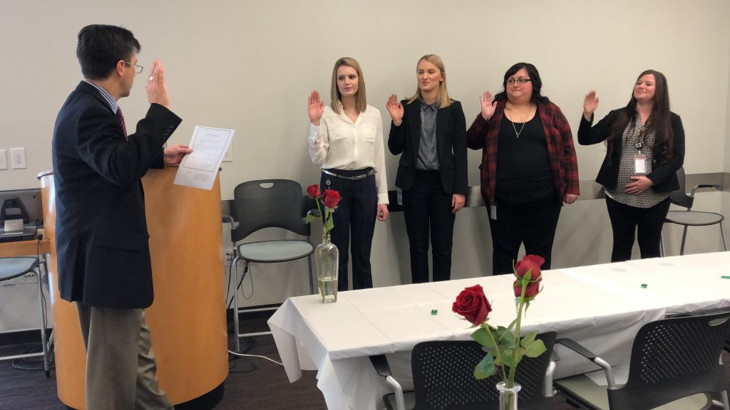 New Employees Take the Oath of Office