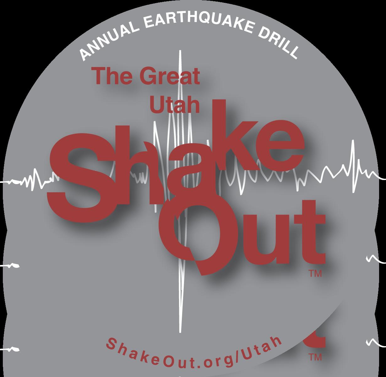 ShakeOut sticker based on 15percentblack