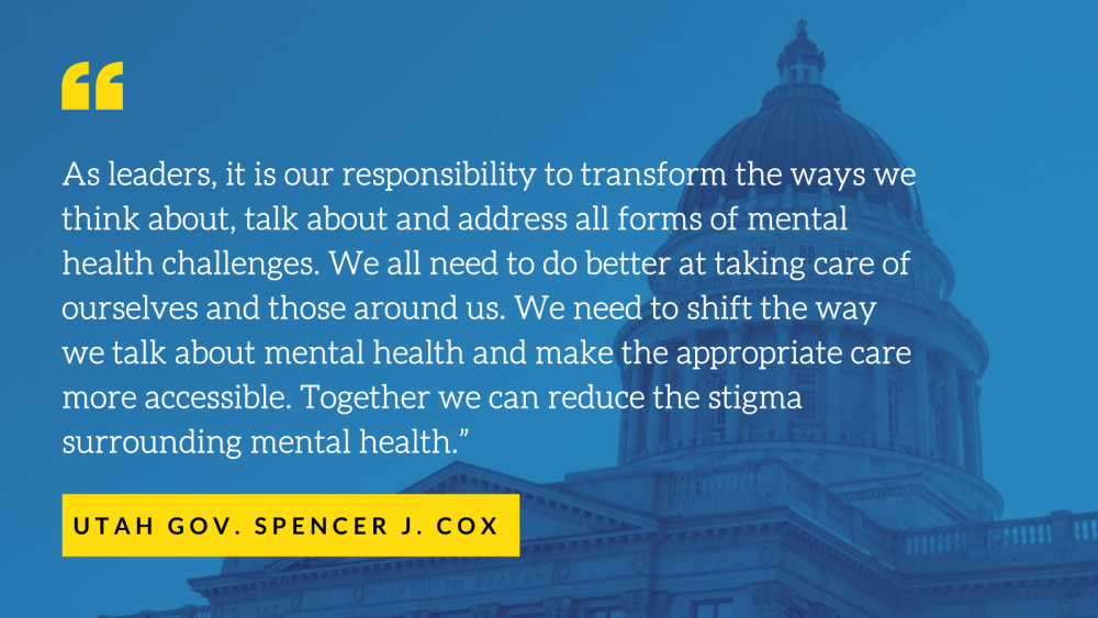 Gov. Cox and Lt. Gov. Henderson order paid leave for mental health treatment and education