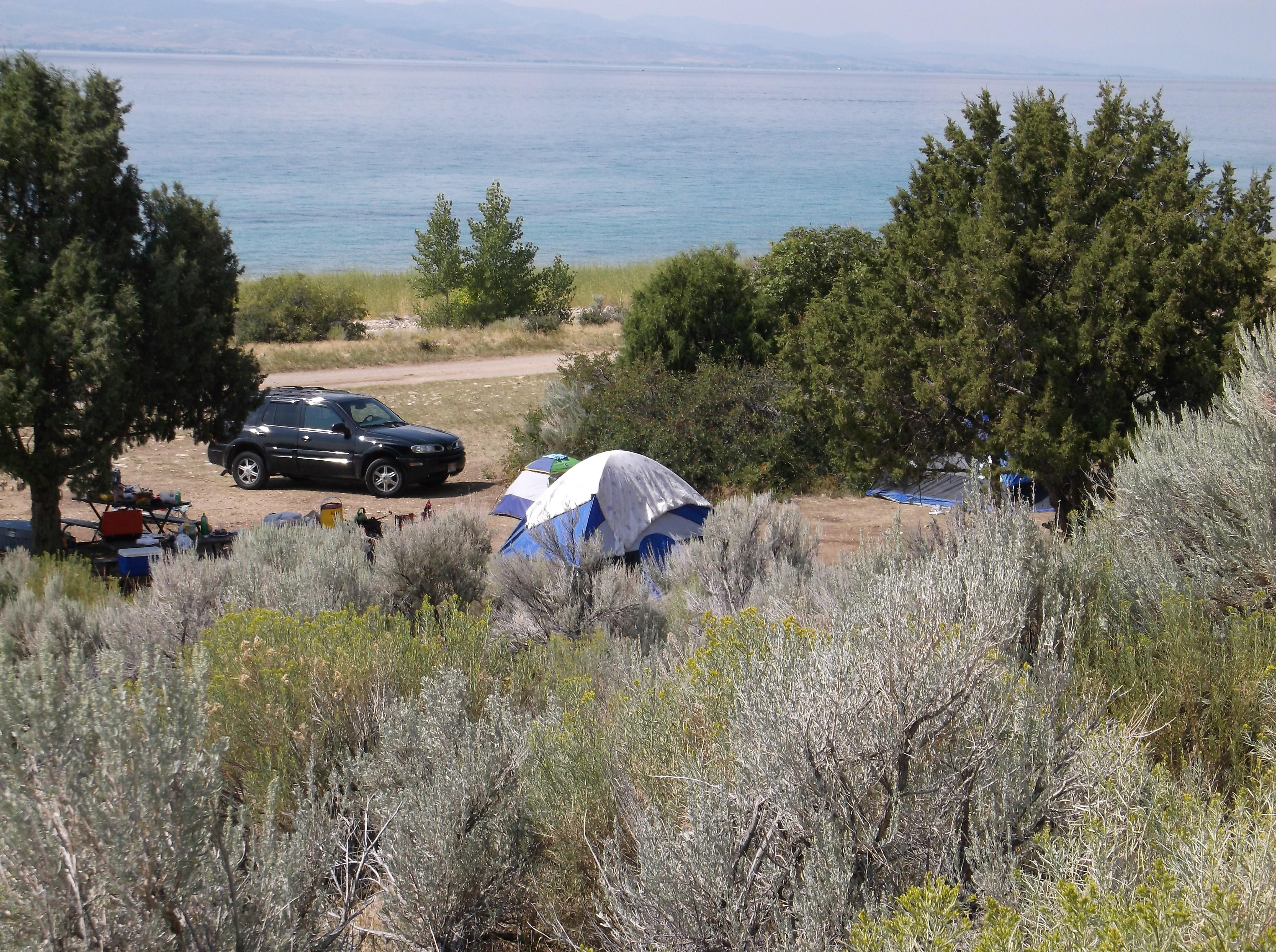 Bear Lake Cisco Beach Camping - 1