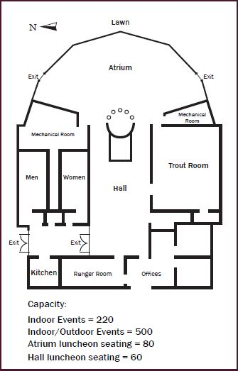 Jordanelle Event Center Layout