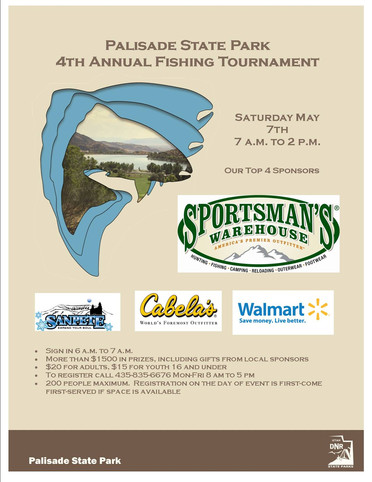 2016 Palisade Fishing Tournament