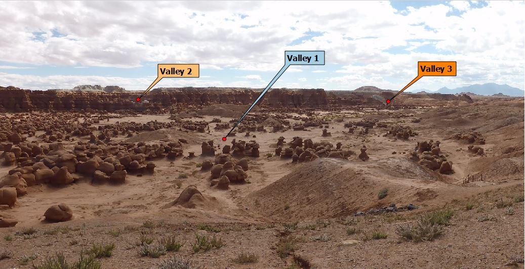 Goblin Valley Map Hiking in Goblin Valley | Utah State Parks