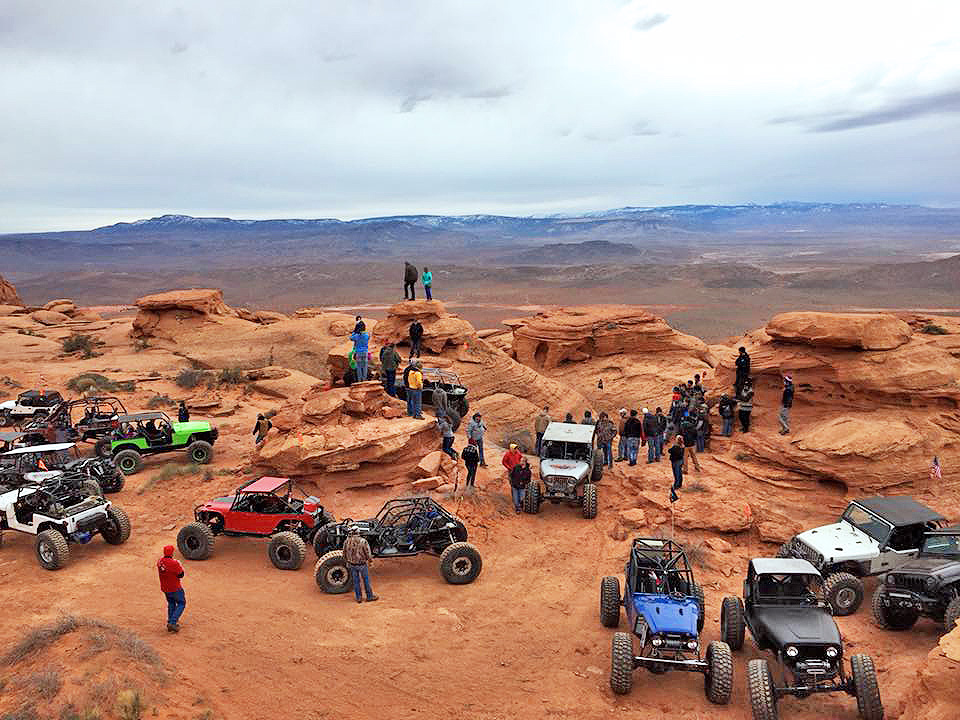 The Winter 4x4 Jamboree at Sand Hollow State Park