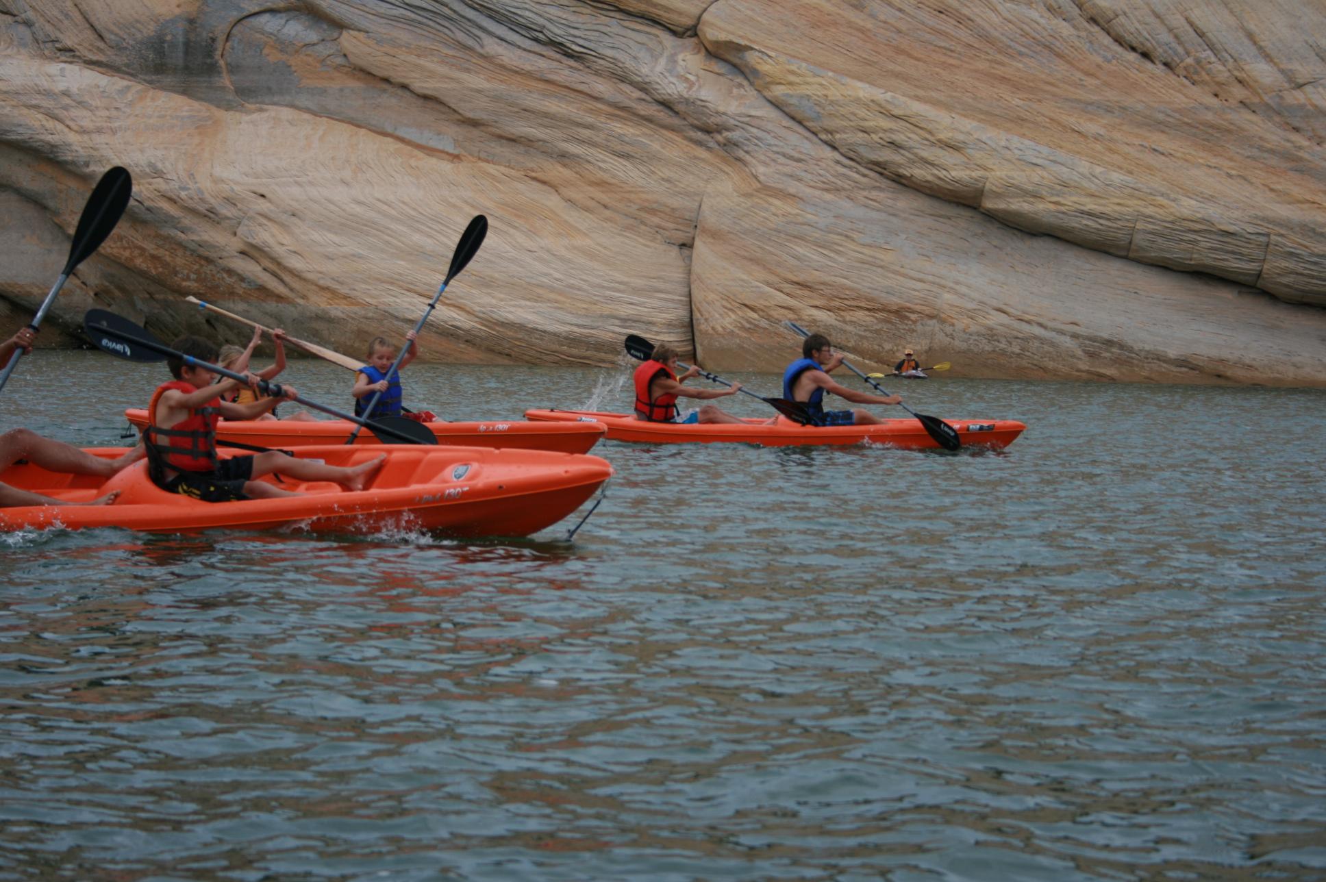 red fleet kayaks