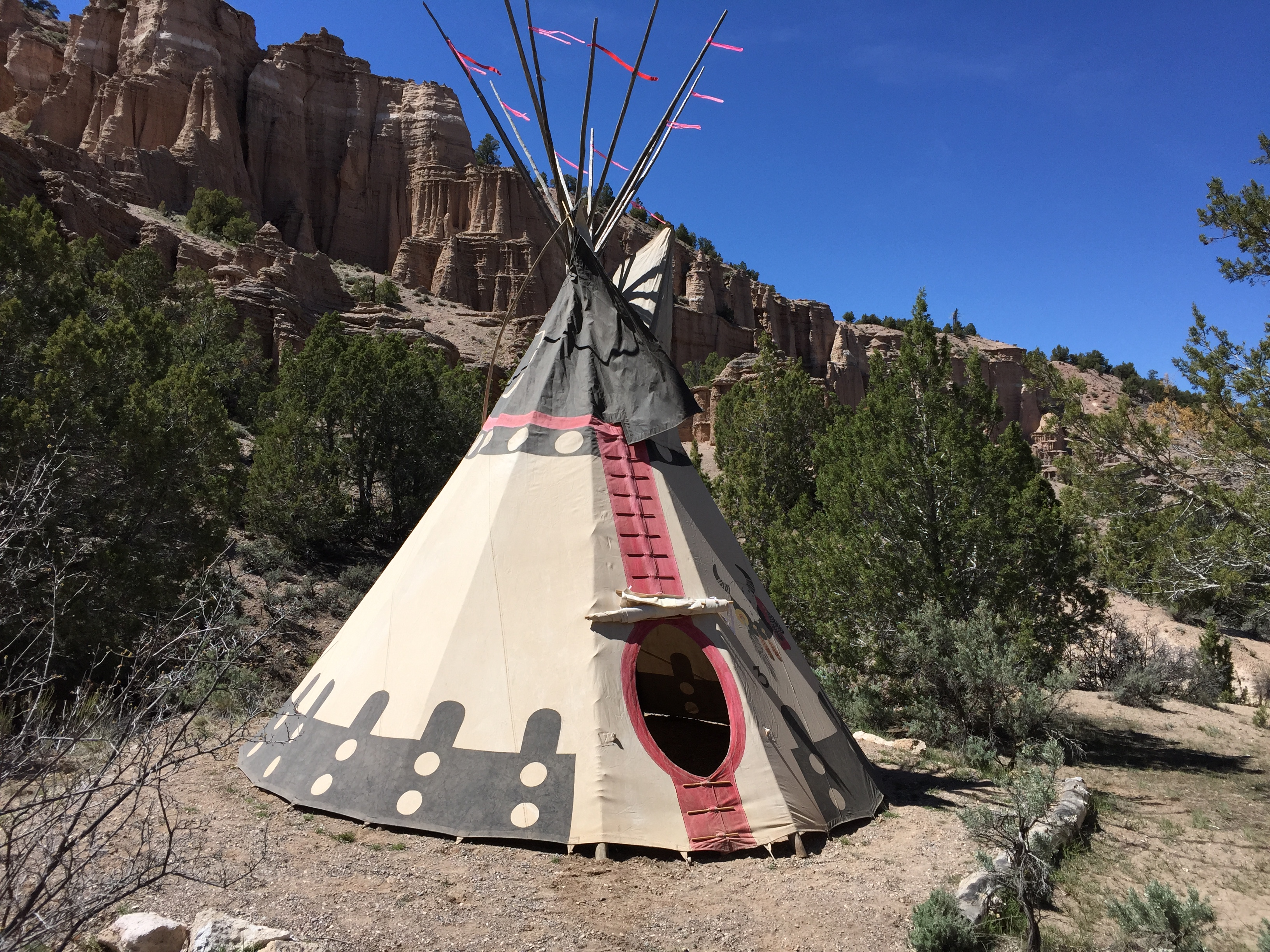 detailed pictures 49a73 0a742 Teepees   Utah State Parks