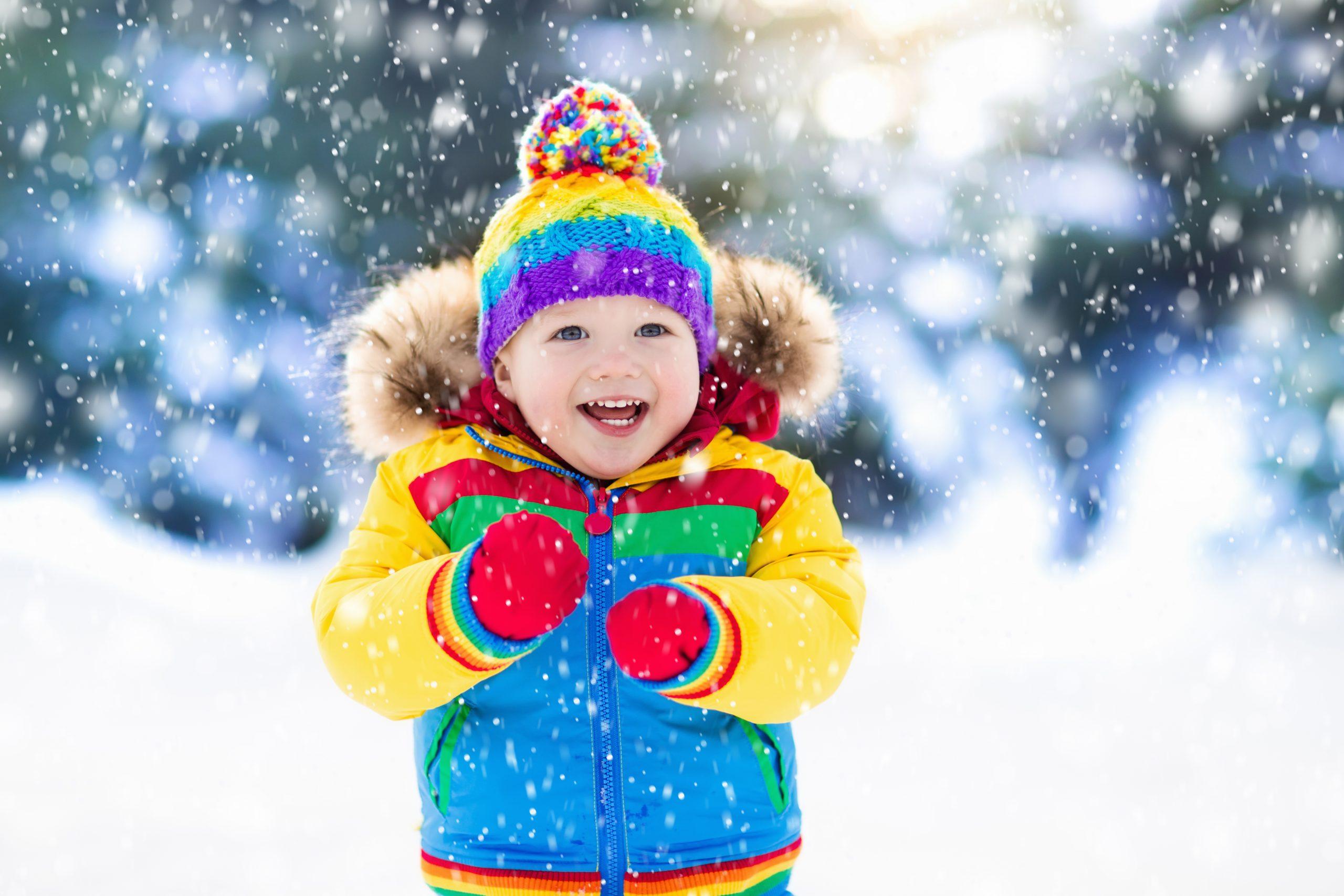 Child in winter coat